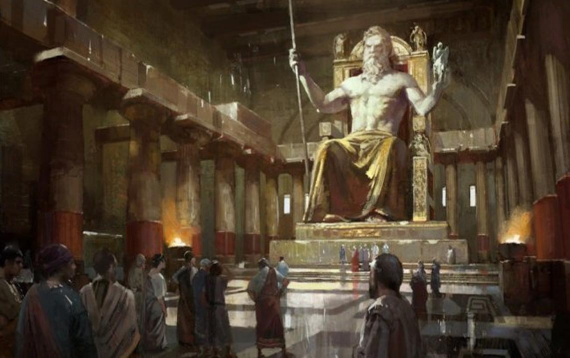 Wonder of the Ancient World The Grand and Powerful Statue of Zeus 1142x717
