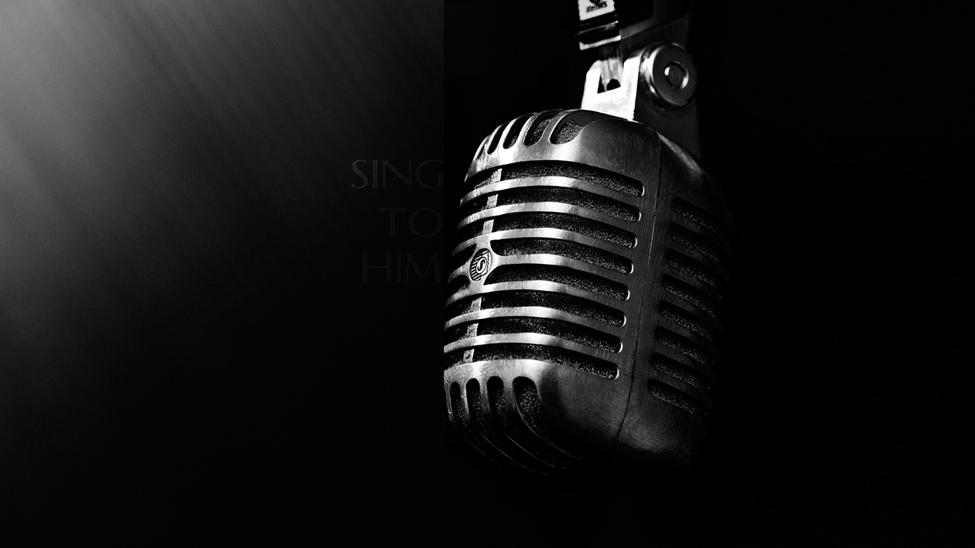 Sing to Him Christian Wallpapers 1366x768