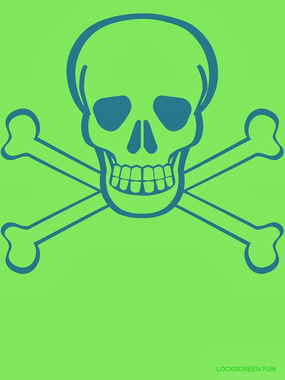 LockscreenFun Skull and Crossbones   Ipad Mini Wallpaper 1200x1600