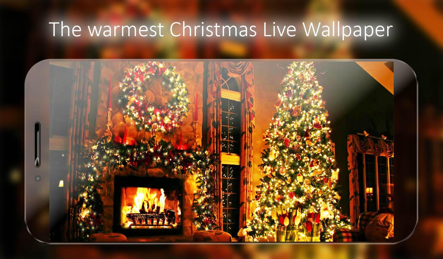 Christmas Fireplace Live Wallpaper for Android   APK Download 1500x880