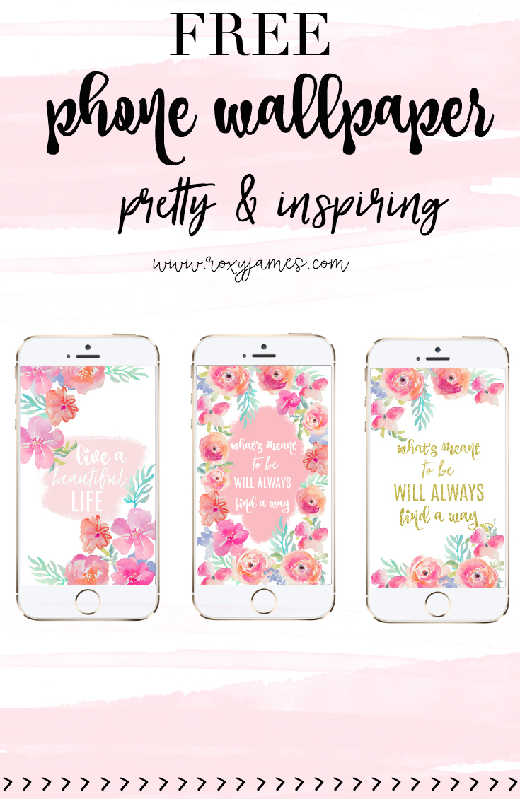 Free Download Free Pretty Phone Wallpaper Floral Inspiring Roxy