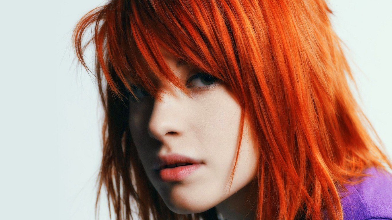 Hayley Williams Wallpaper 1366x768 Hayley Williams Paramore Women 1366x768