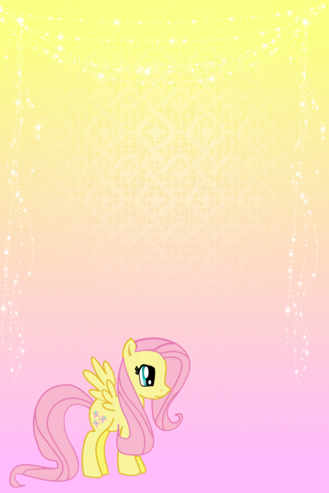 Free Download My Little Pony Fluttershy Phone Wallpaper By