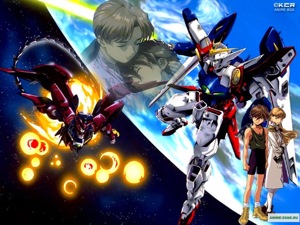 Mobile Suit Gundam Wing 1024x768