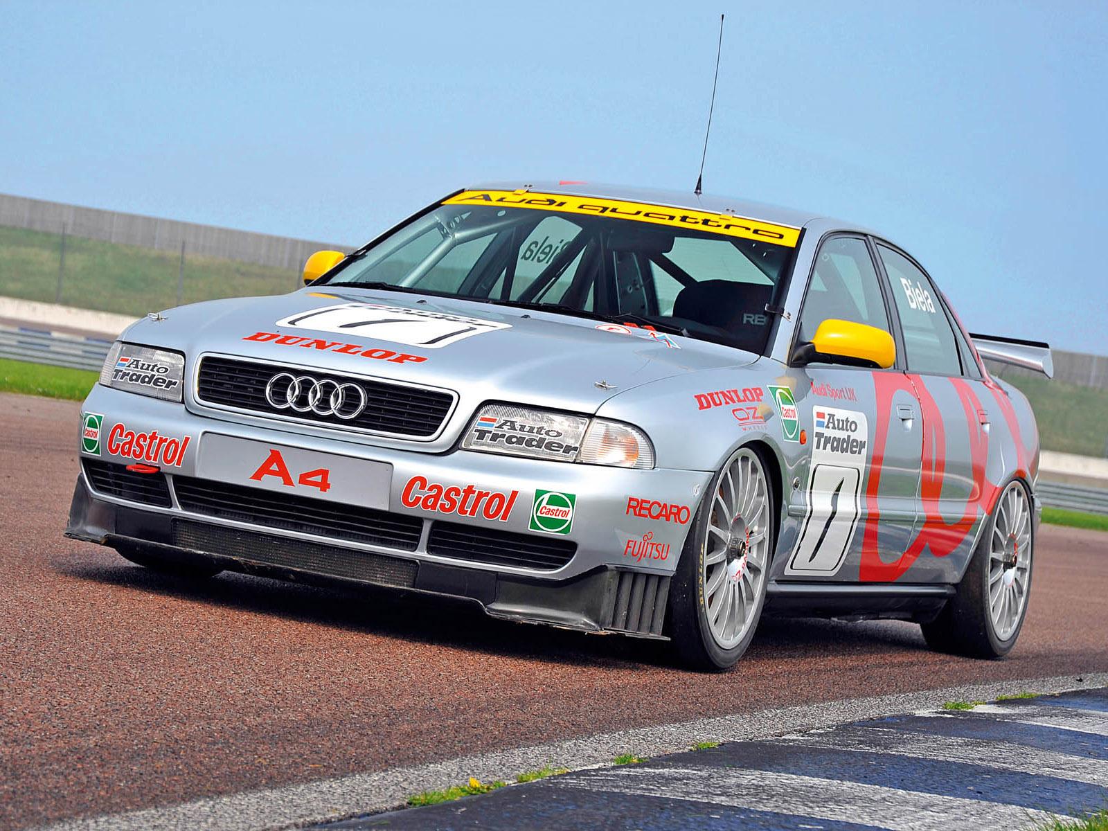 1996 Audi A4 Quattro BTCC race racing a 4 d wallpaper 1600x1200 1600x1200