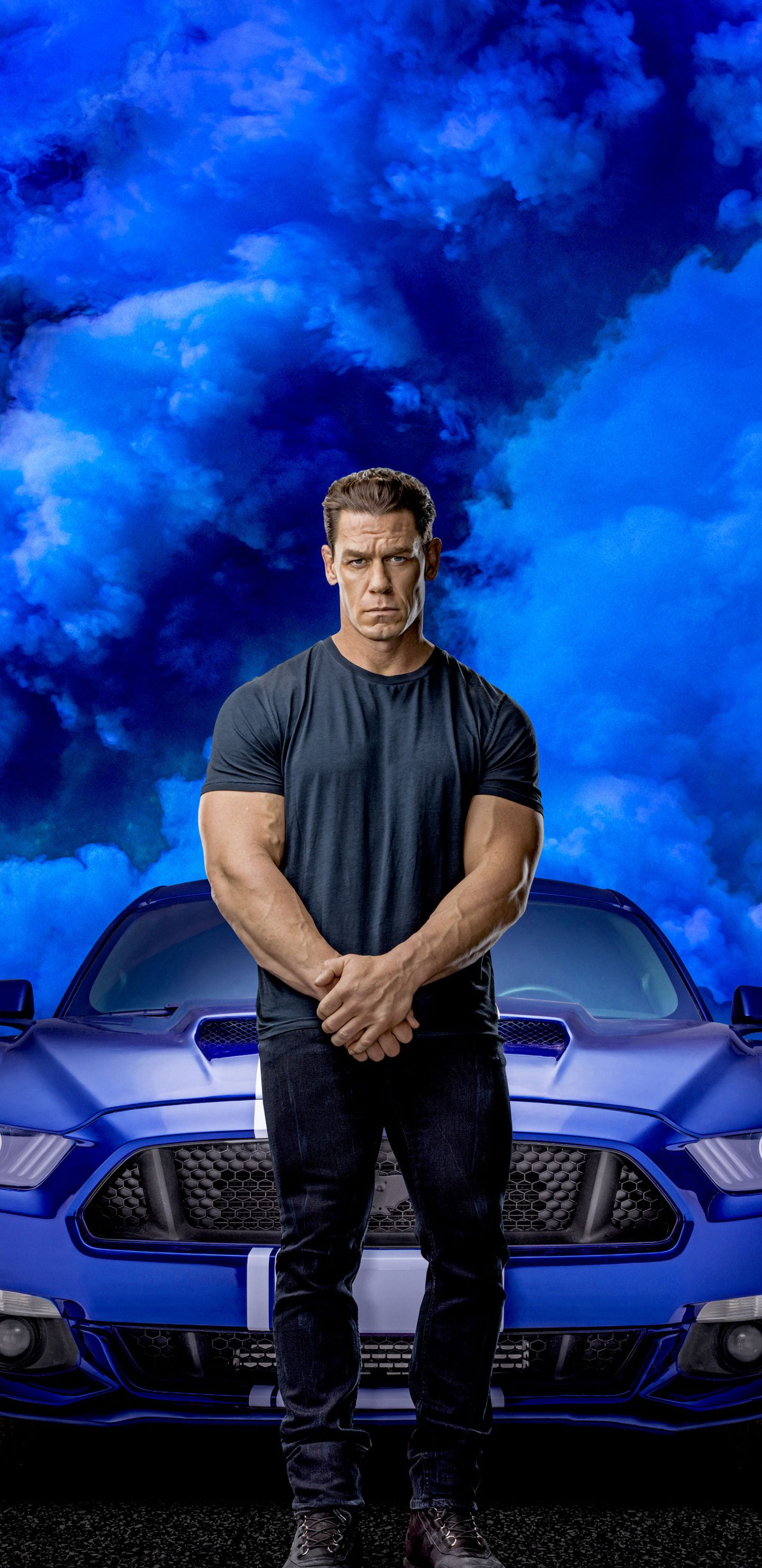 Download John Cena Fast Furious 9 2020 movie wallpaper for 1440x2960