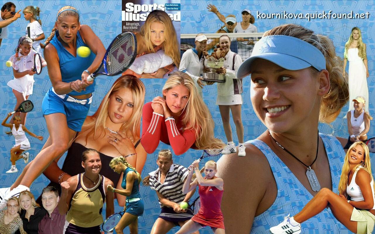 Anna Kournikova Wallpaper QuickSports 1280x800