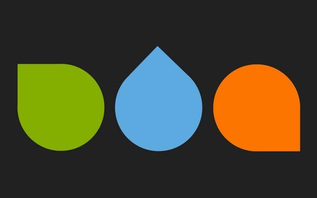 Green Blue Orange Wallpaper Walltor 640x400