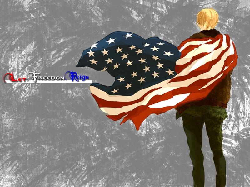 Let Freedom Reign   Hetalia Wallpaper 32442484 800x600