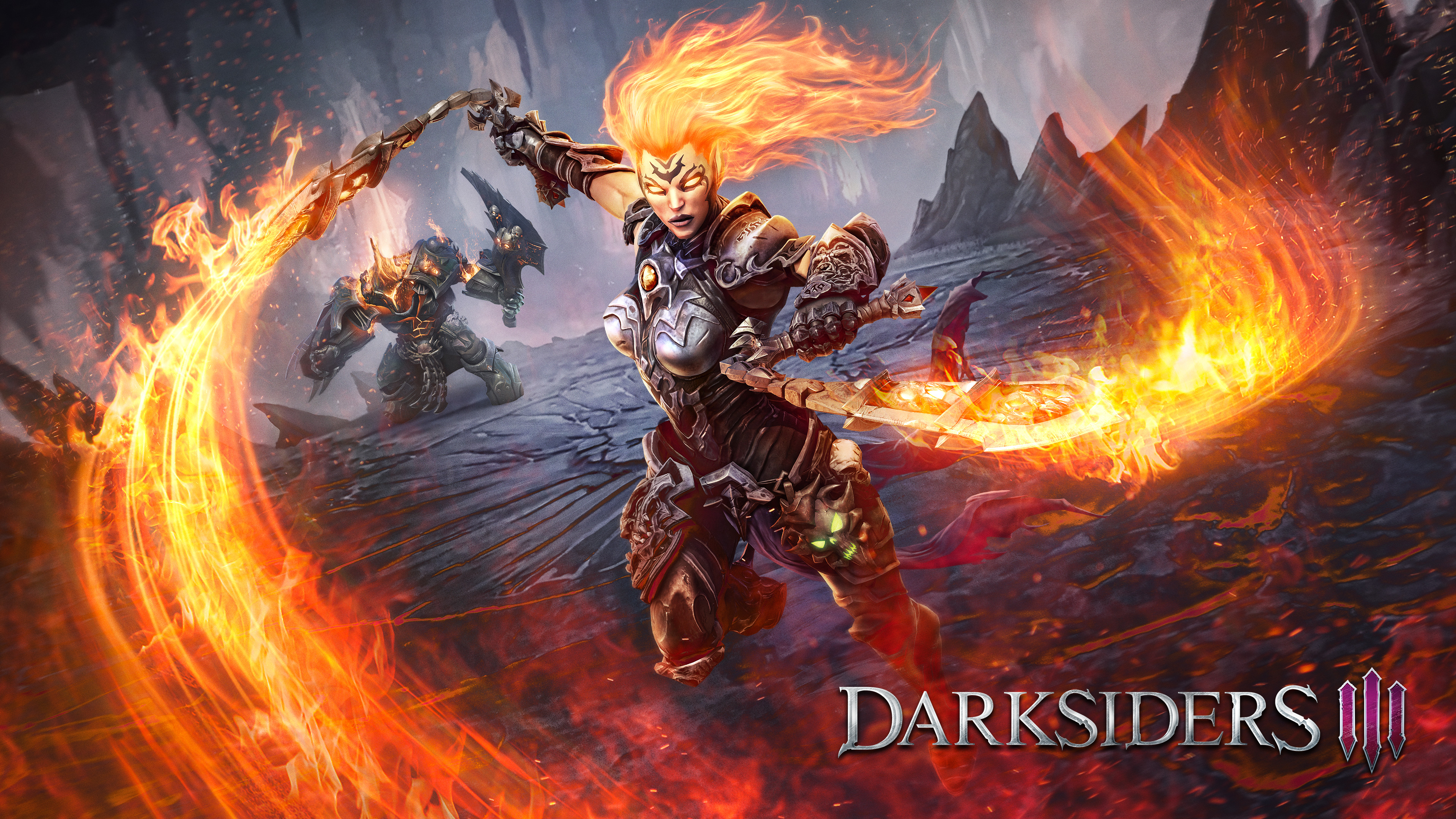 Darksiders III 4k Ultra HD Wallpaper Background Image 3840x2160