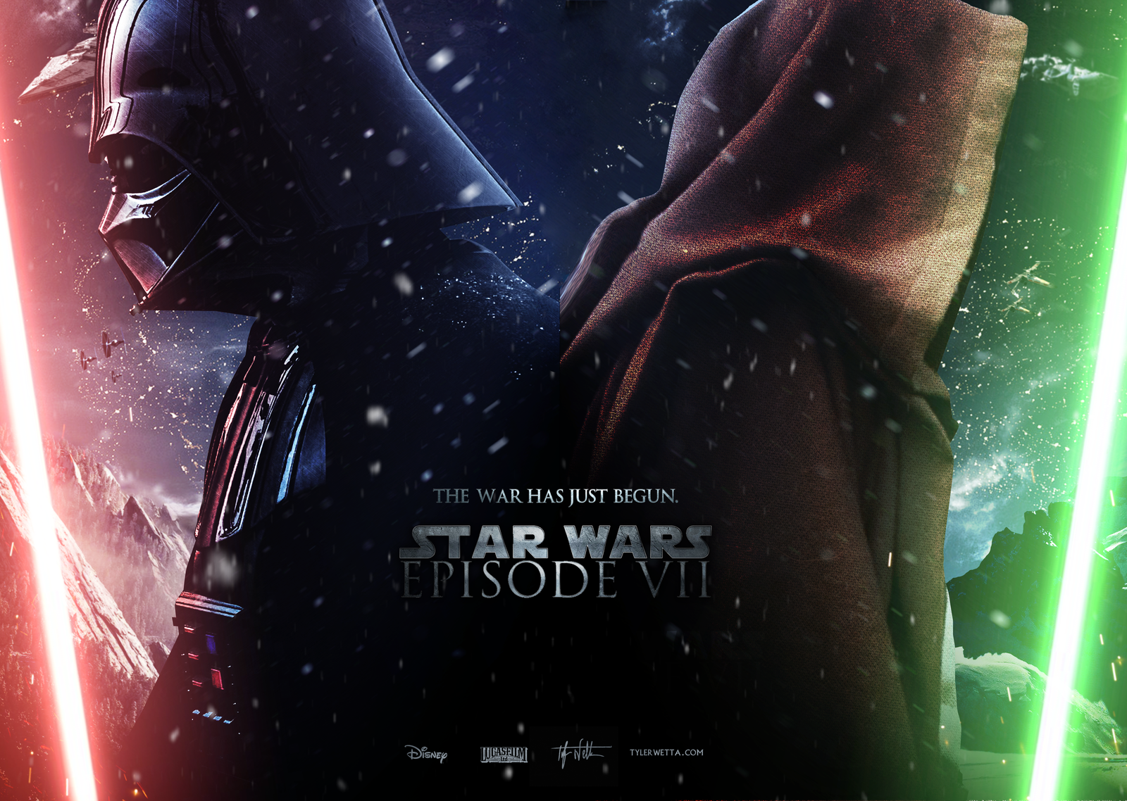 star wars episode vii   wallpaper by ancoradesign d74gh8spng 1600x1138