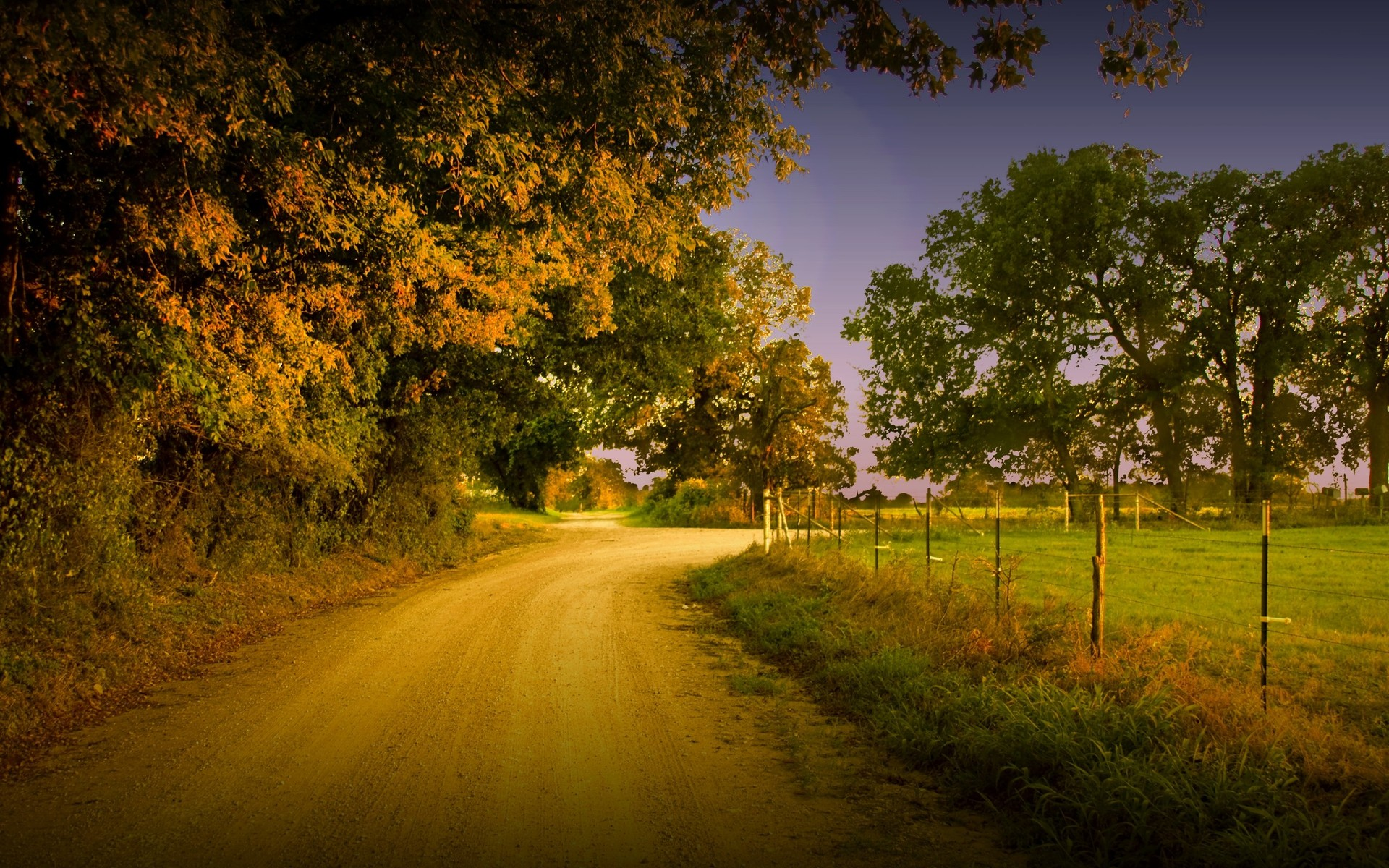Download Country road wallpaper 1920x1200
