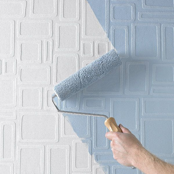 Squares Paintable Wallpaper For the Home Pinterest 600x600