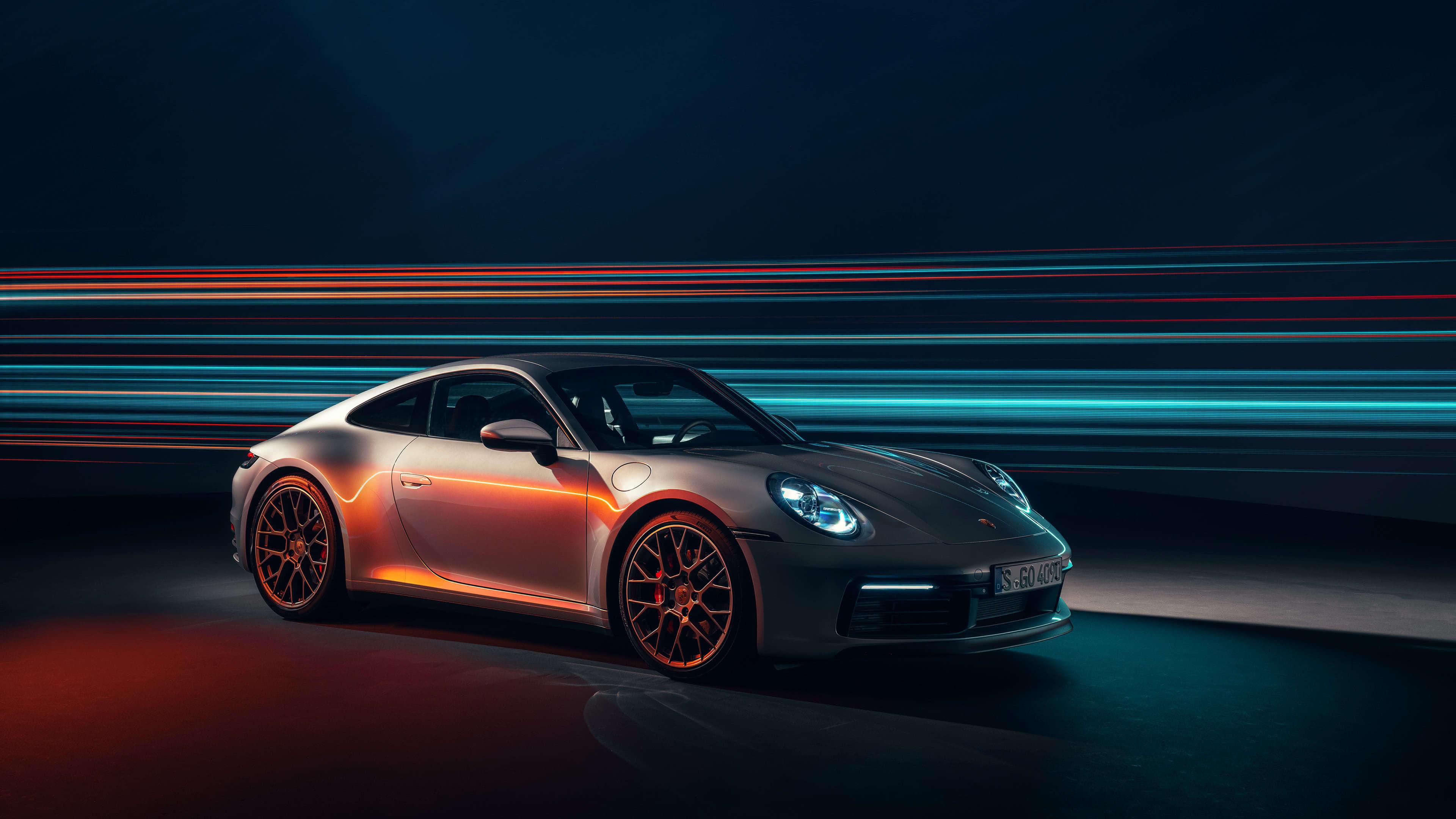 Porsche 911 Carrera 4S UHD 4K Wallpaper Pixelz 3840x2160