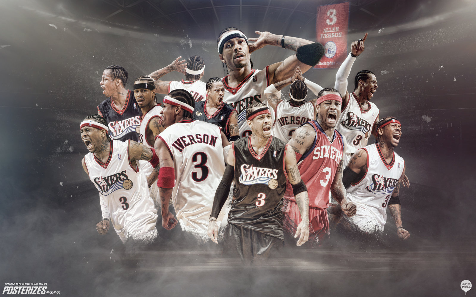 47 Allen Iverson Wallpaper Hd On Wallpapersafari