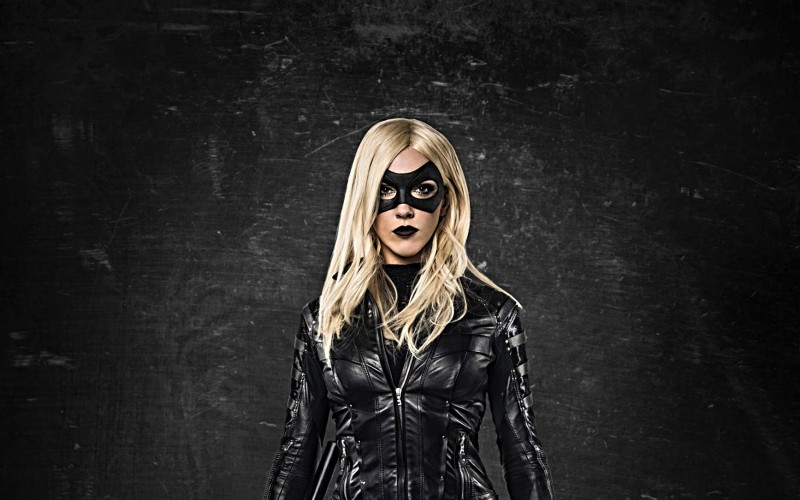 Name Katie Cassidy as Black Canary in Arrow Wallpaper 800x500
