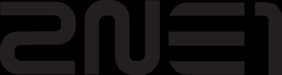 2NE1s Logo PNG Format by capsvini 900x240