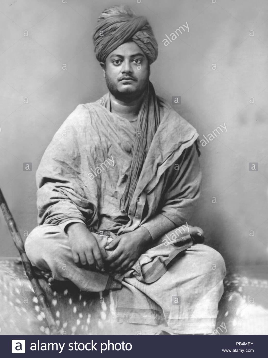 Swami Vivekananda Black and White Stock Photos Images   Alamy 1040x1390