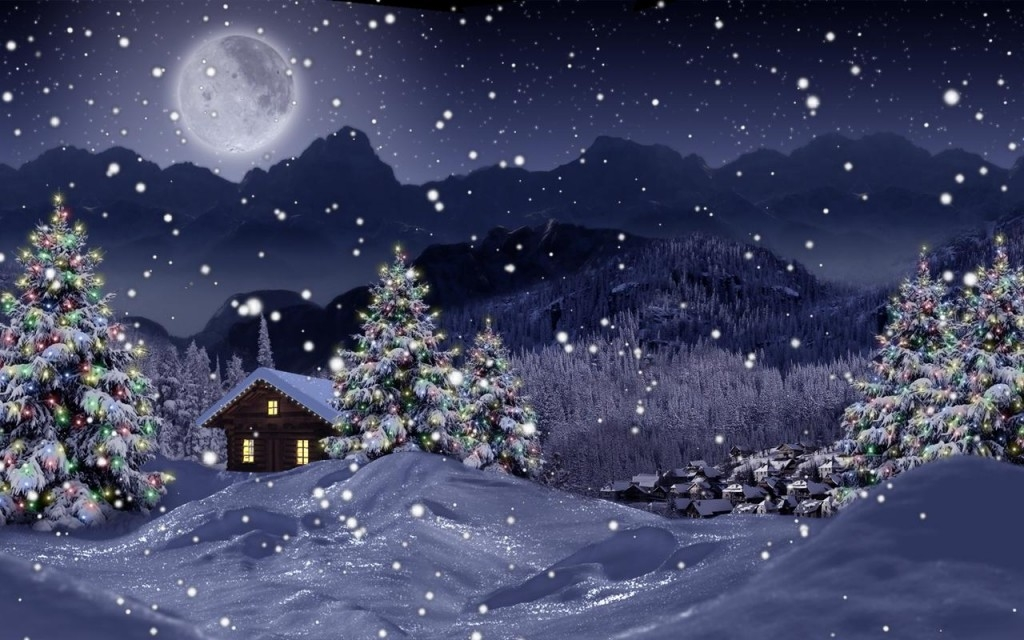 Collection Of Live Christmas Desktop Wallpaper On Wall Papers 1024x640