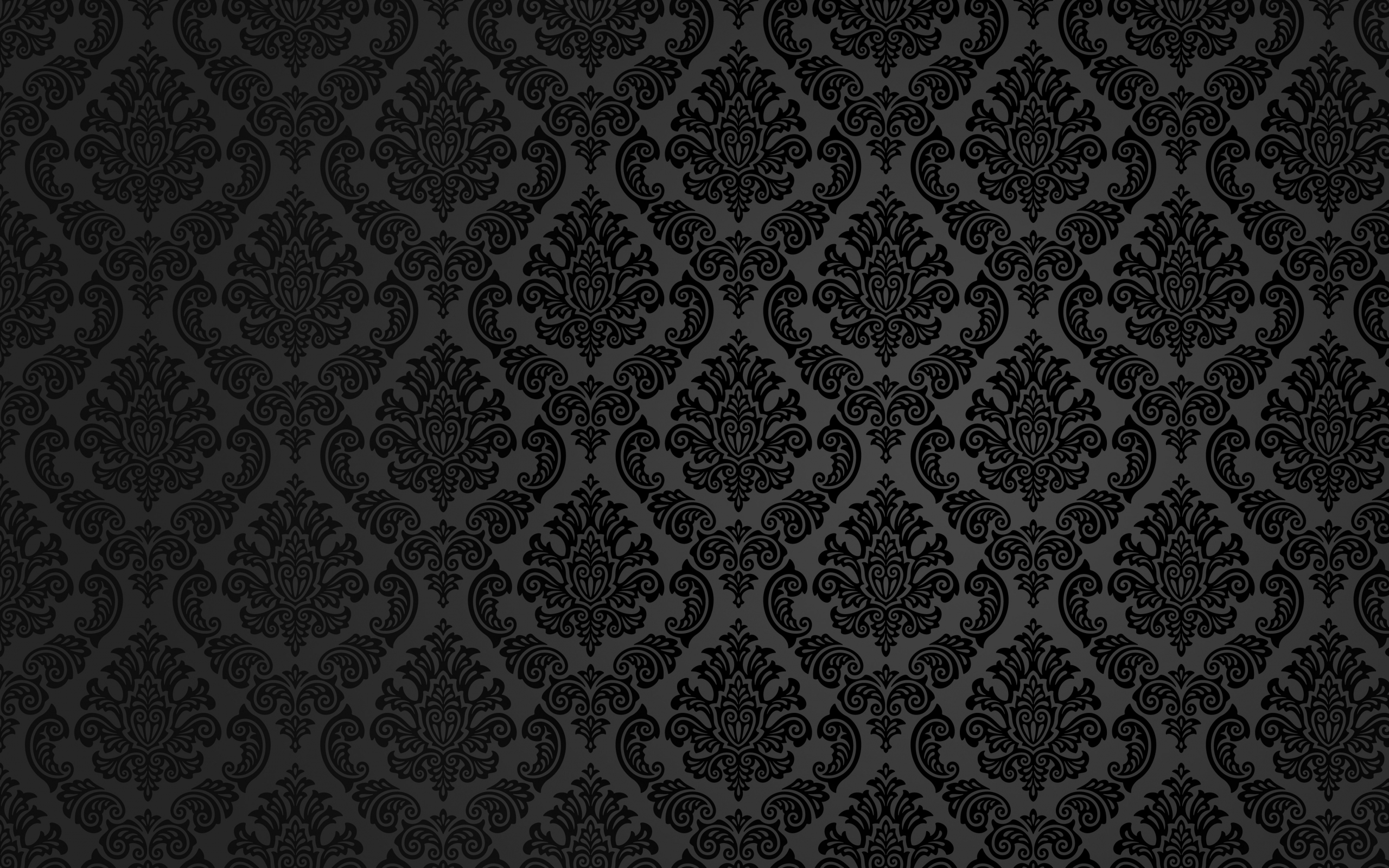 Black And White Damask Wallpaper 14 Background 2560x1600
