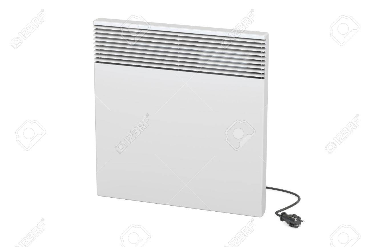 Convection Heater 3D Rendering Isolated On White Background Stock 1300x866