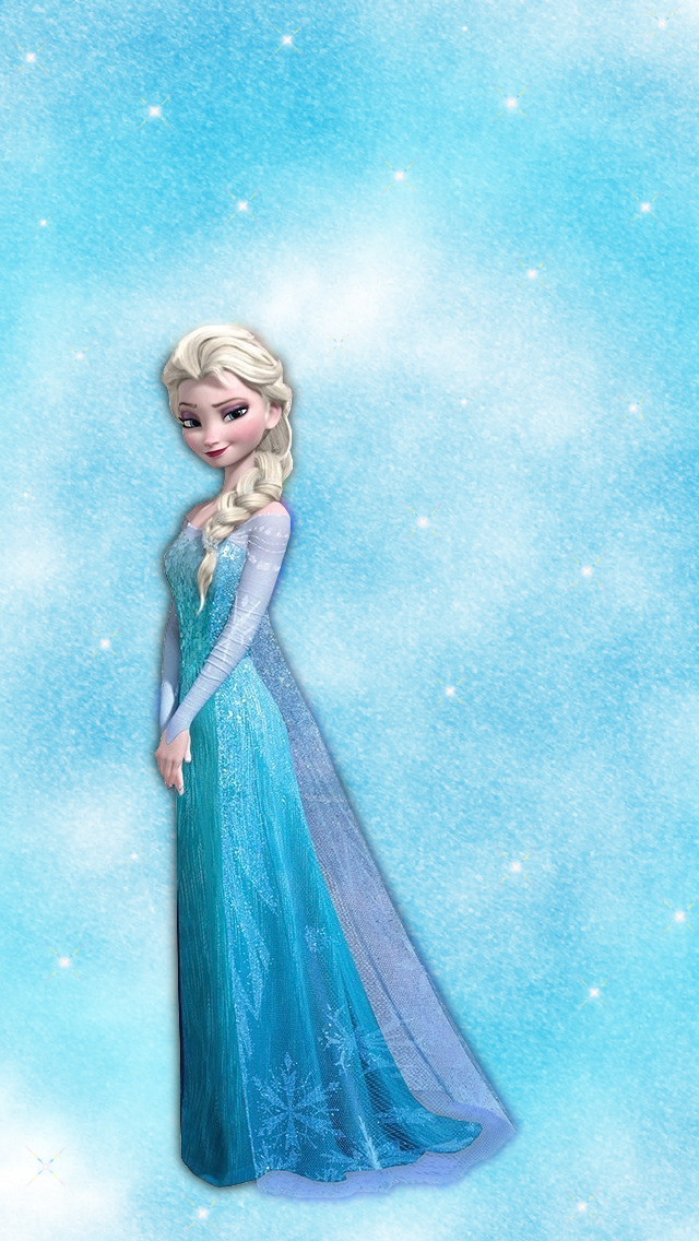 Elsa Frozen iPhone and iPod touch Wallpaper 640x1136