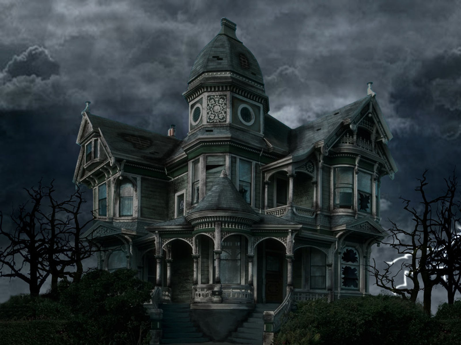 wallpapers Horror House Wallpapers 1600x1200