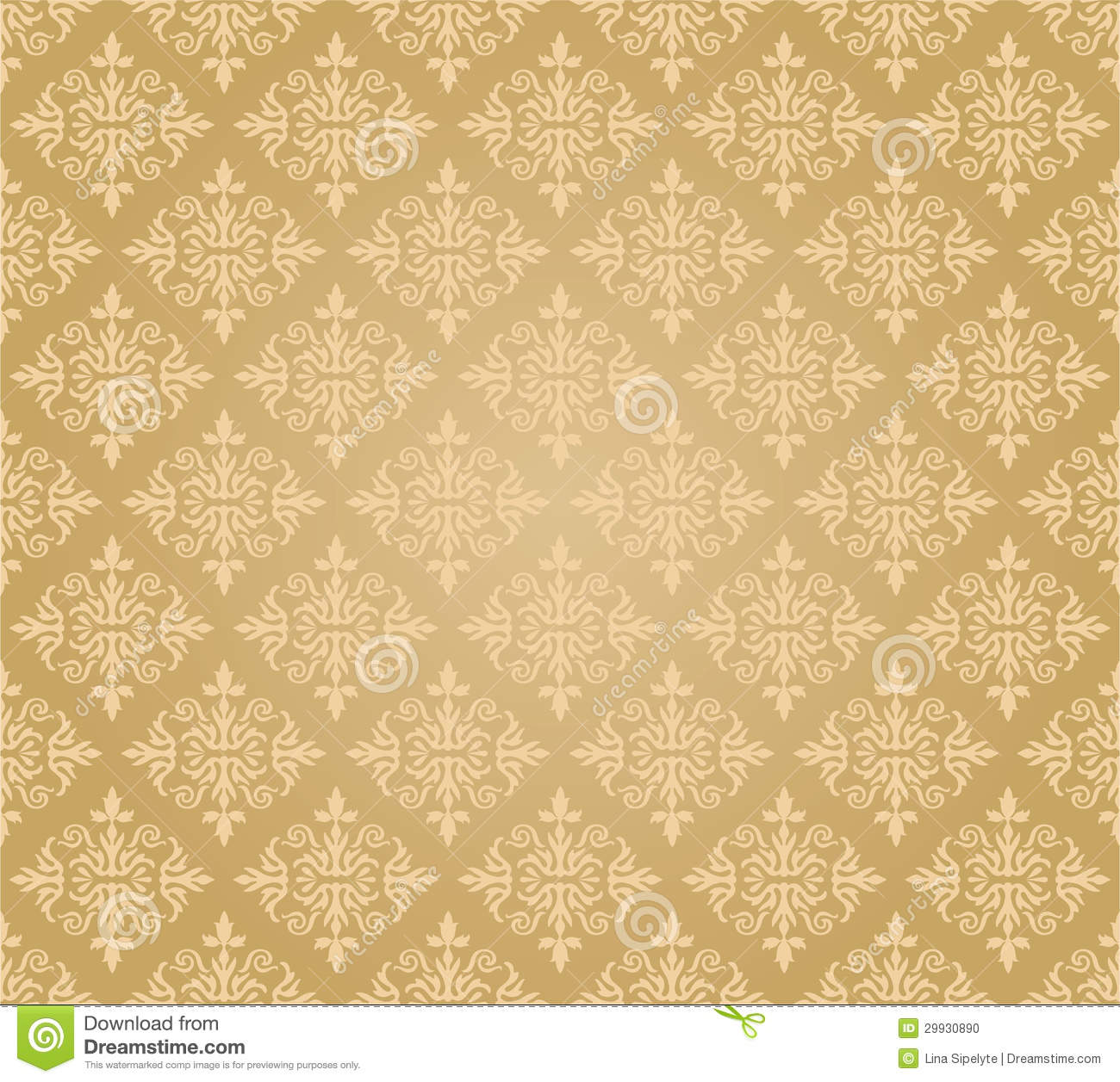 Free Download Gold Floral Pattern Wallpapers The Art Mad