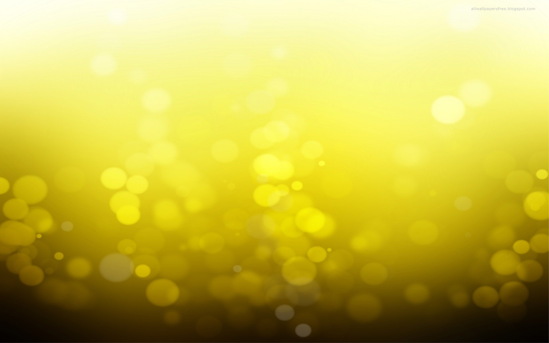 1920x1200 Yellow Bokeh desktop PC and Mac wallpaper 1920x1200