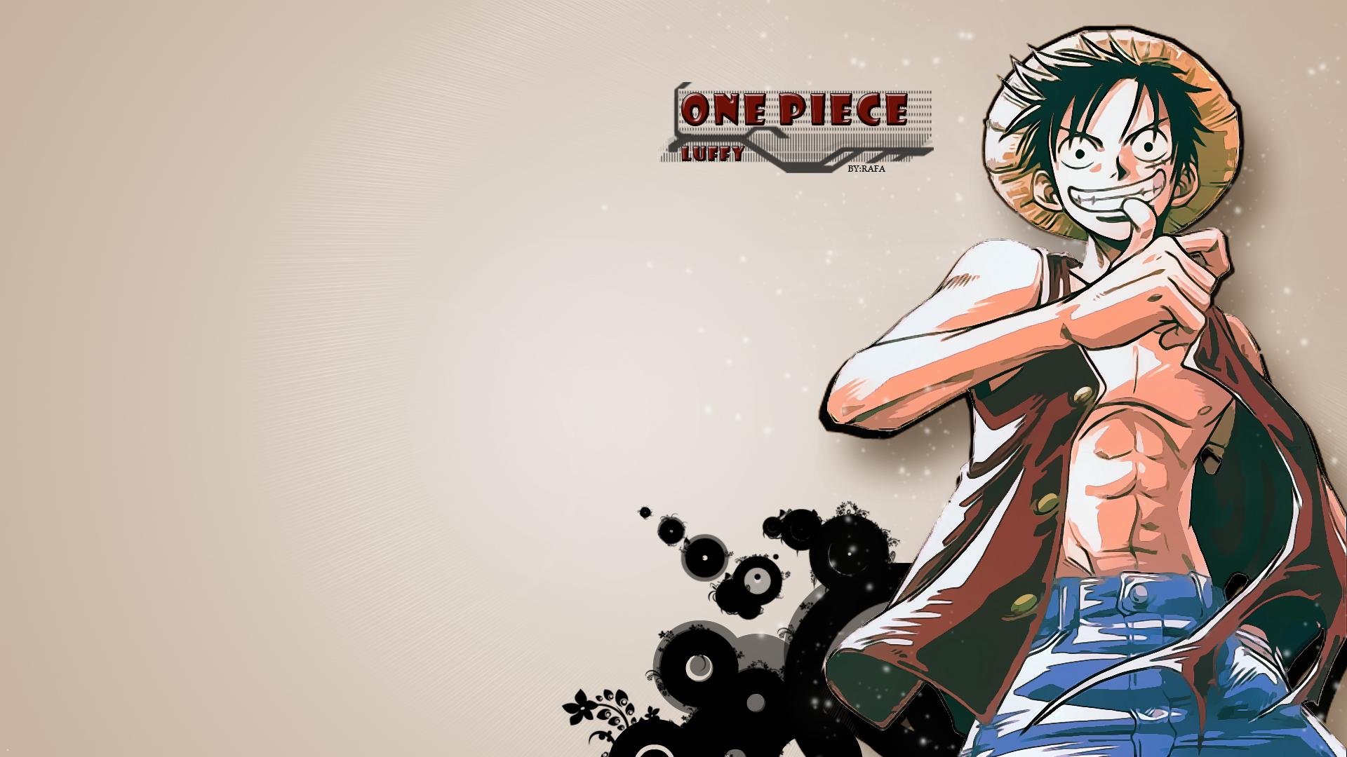 Luffy One Piece Wallpaper HD 1920x1080