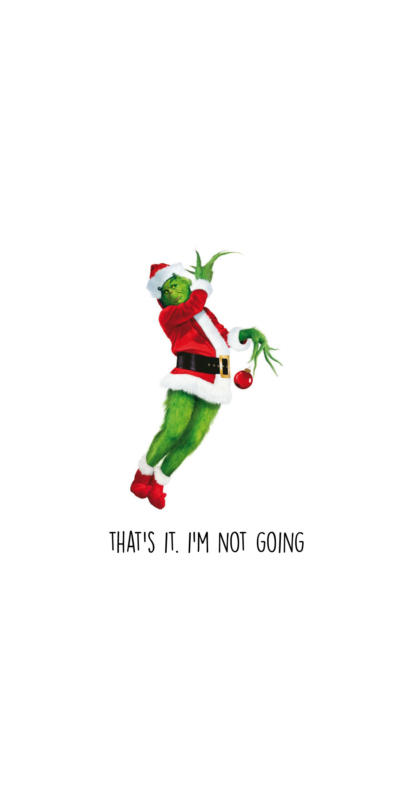 Grinch Holiday iPhone Wallpapers Cute christmas wallpaper 1445x2832