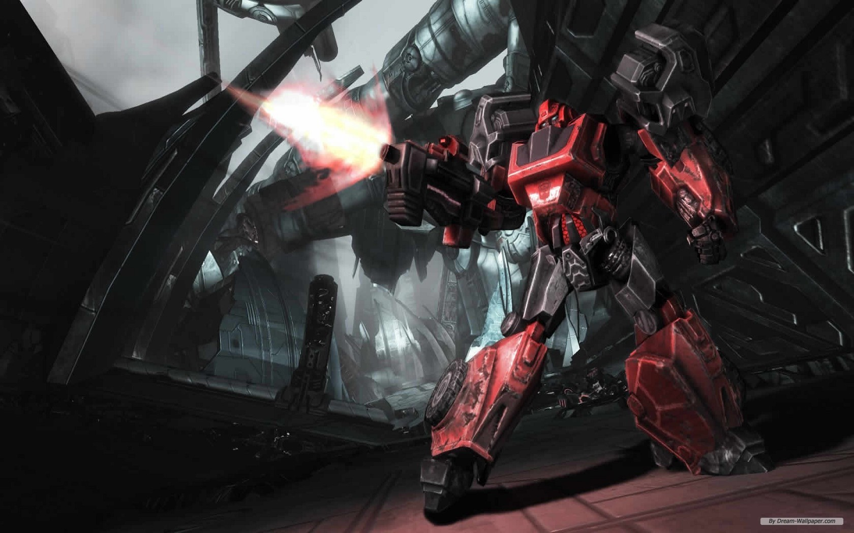 Game wallpaper   Transformers Fall of Cybertron wallpaper 1680x1050