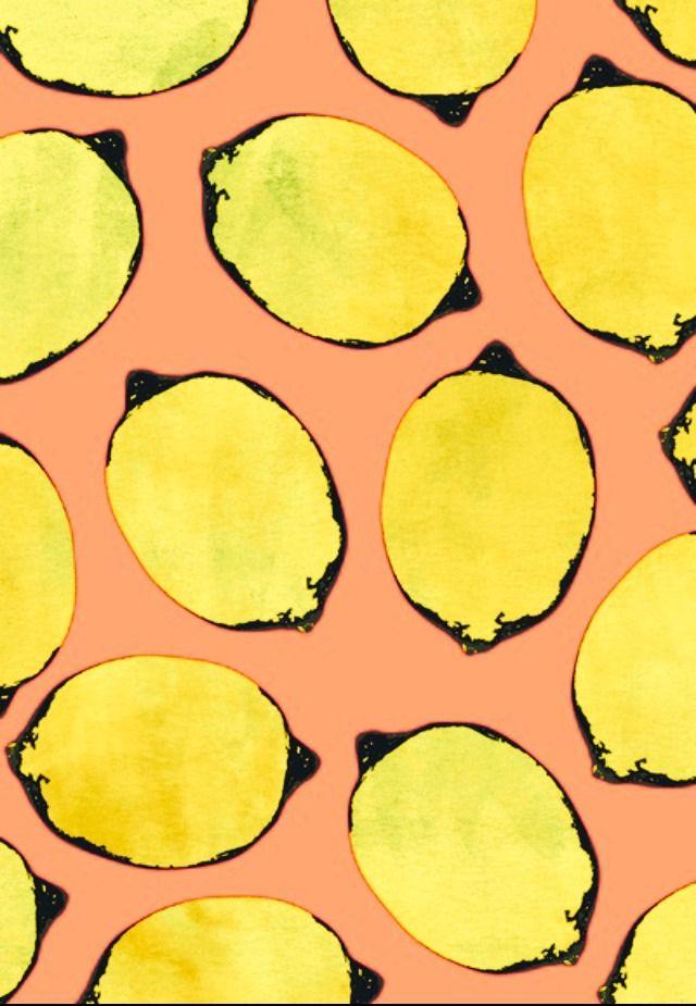 Free Download Colors Patterns Prints Patterns Lemons Fruity Lemon
