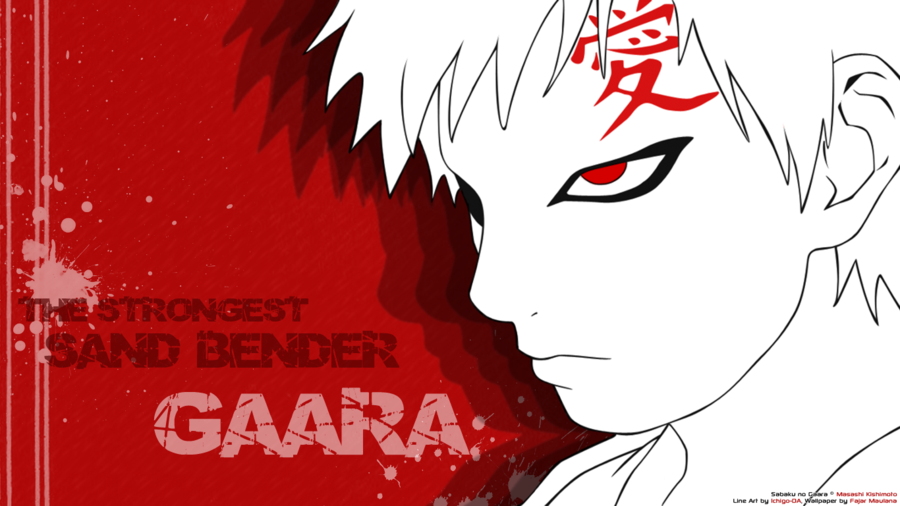 Gaara Wallpaper Gaara wallpaper by blackguriin 900x506