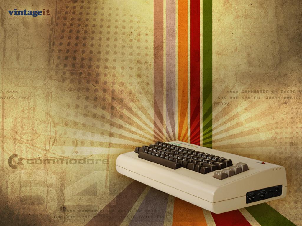 Commodore 64 vintage wallpaper   Desktop HD iPad iPhone 1024x768