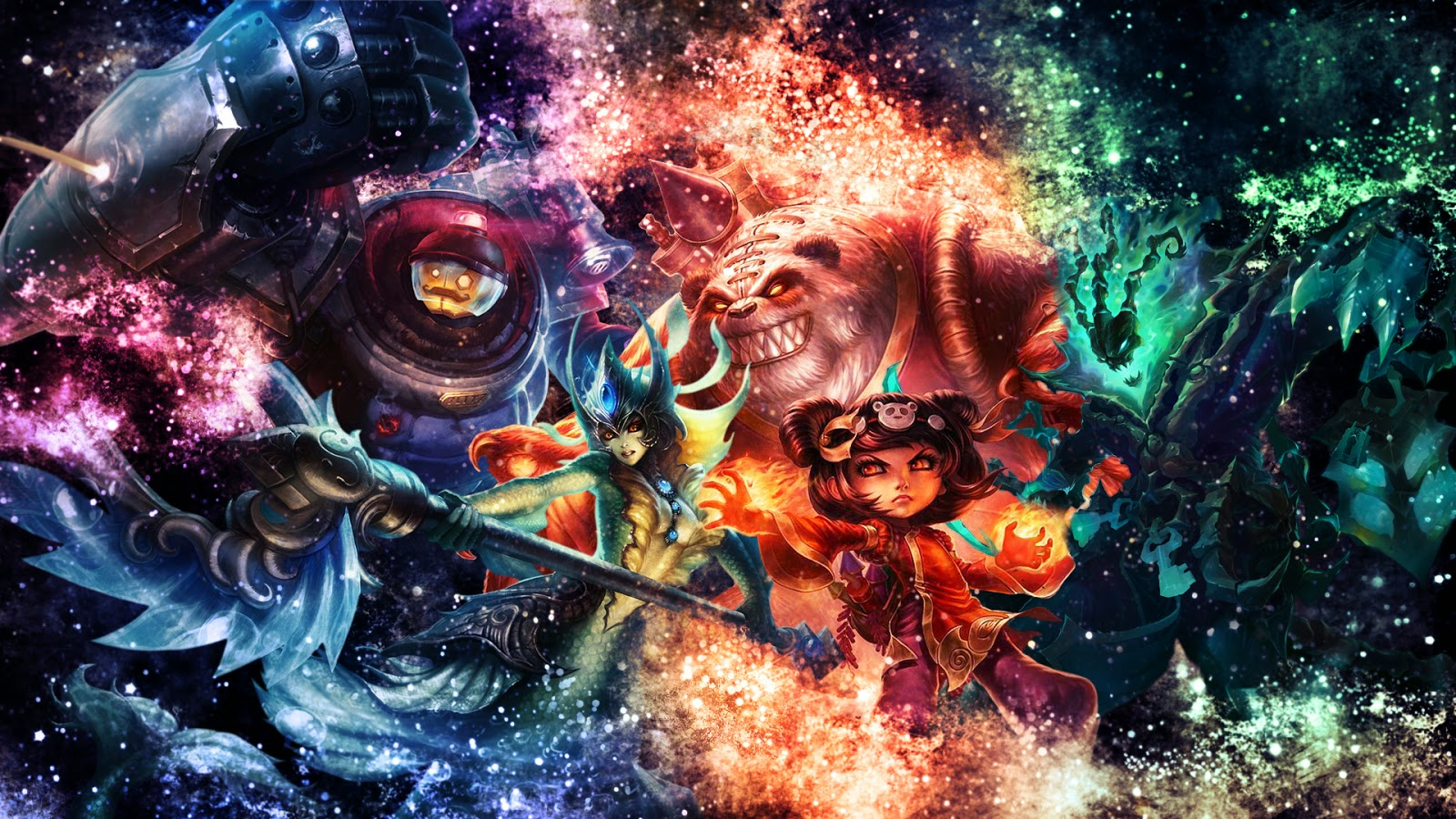 league of legends wallpapers lol desktop backgrounds - HD 1600×900