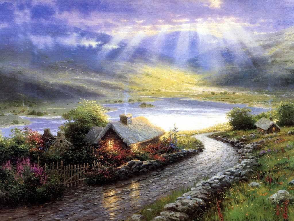 River Scene wallpaper   ForWallpapercom 1024x768