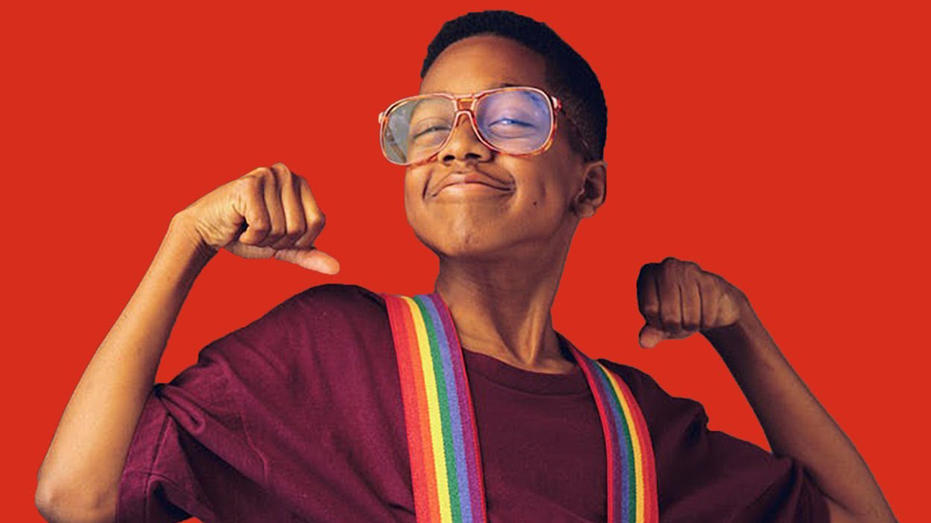 Steve Urkel is Bad to the Bone in Fun Video Remix from MelodySheep 1920x1080
