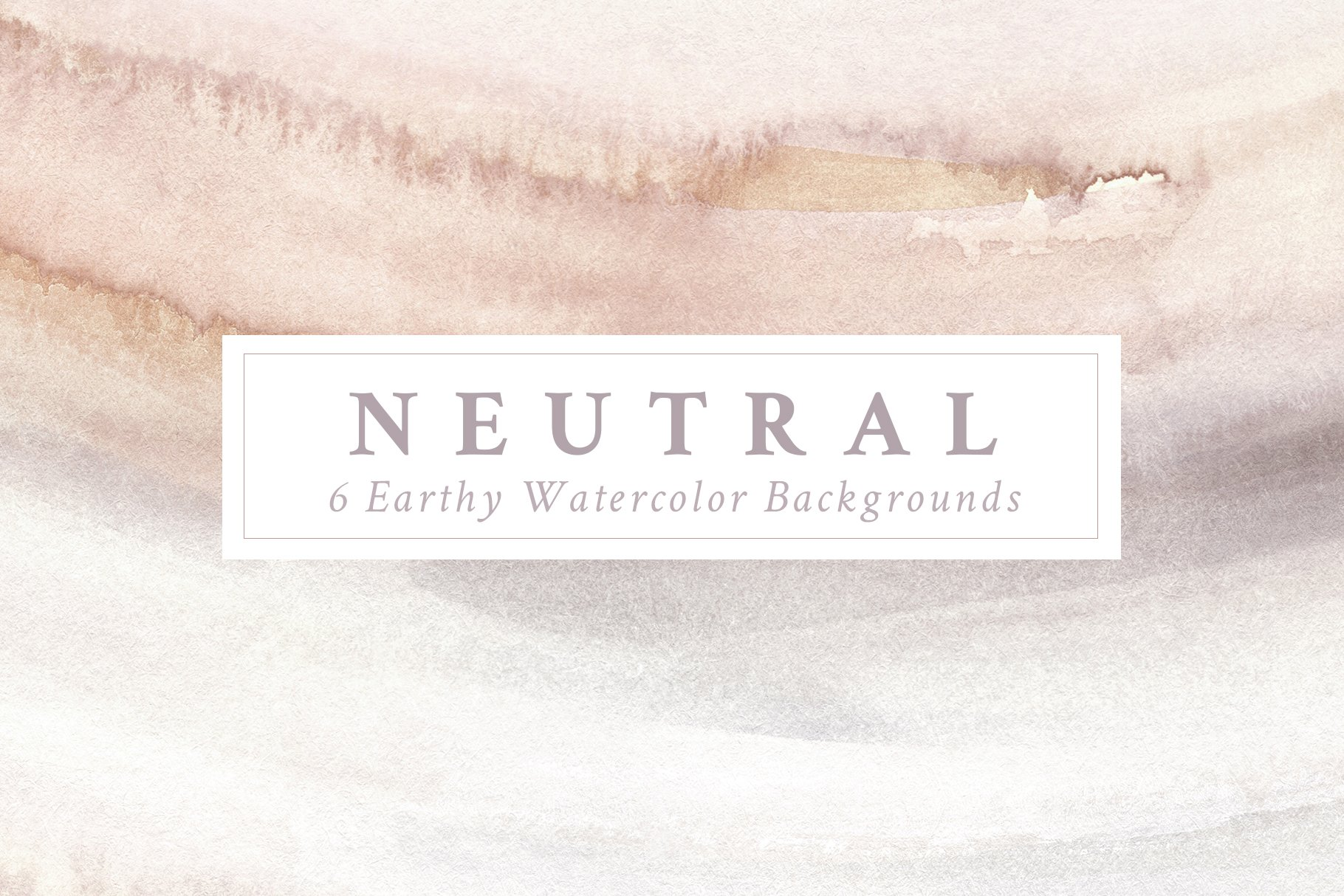 Natural Painted Backgrounds Creative Market 1820x1214