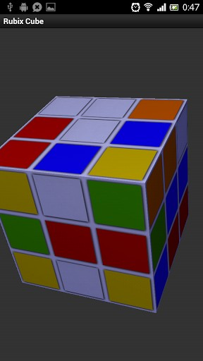 Rubix Cube Android   Screenshot 1 288x512