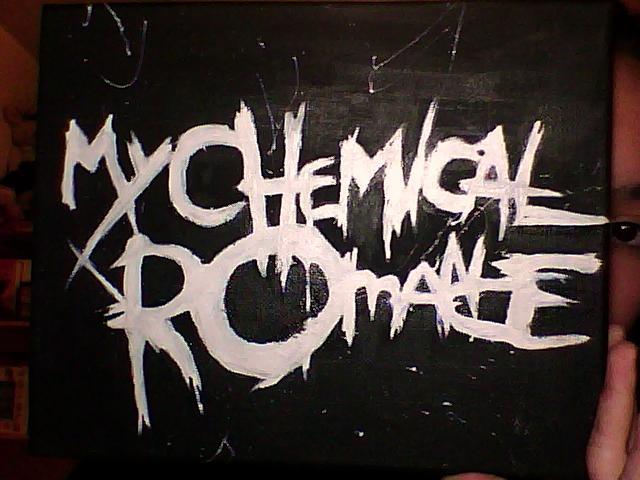 My Chemical Romance Logo Wallpaper My chemical romance logo by 640x480