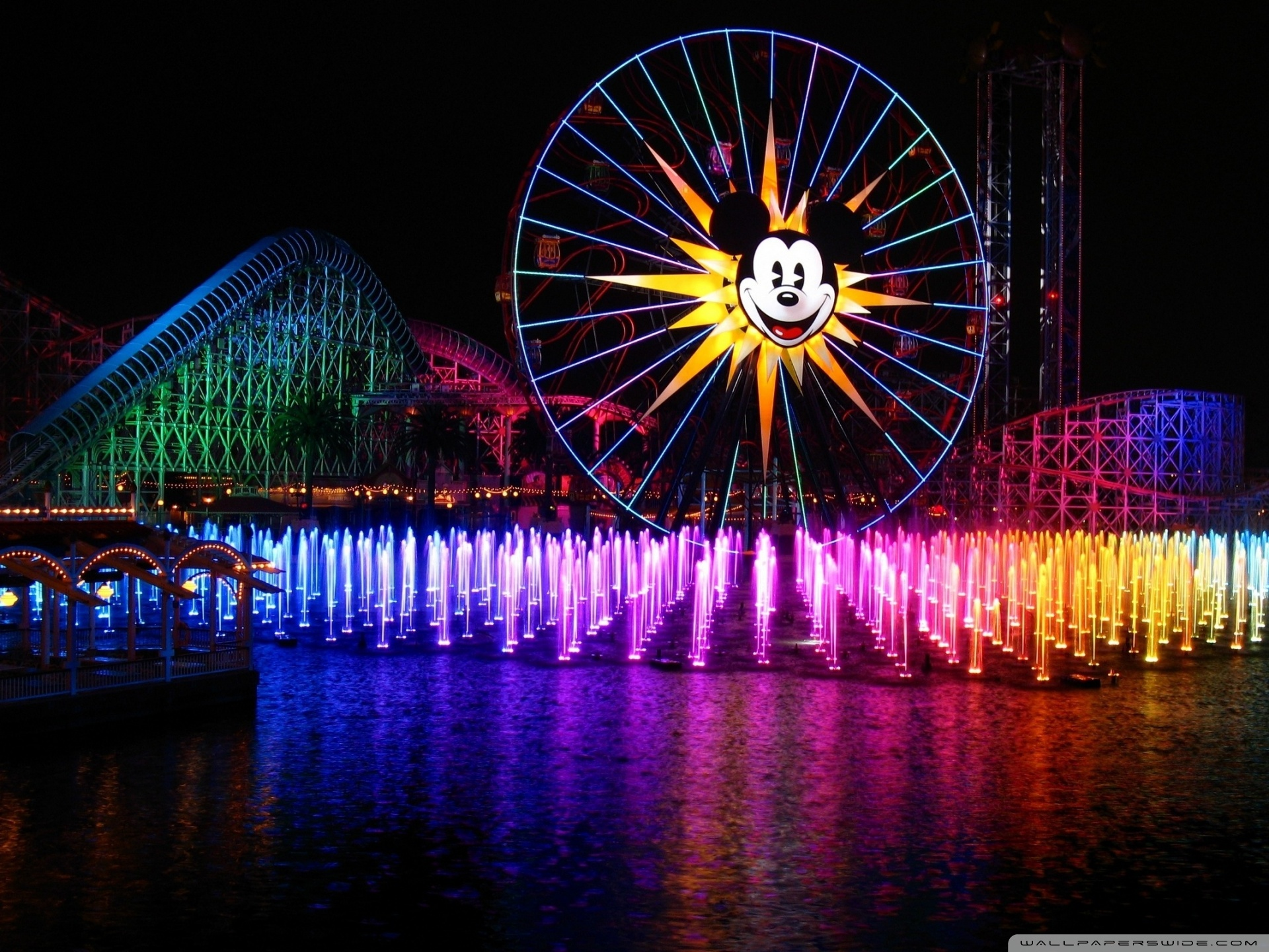 Amusement Park 4K HD Desktop Wallpaper for 4K Ultra HD TV 1920x1440