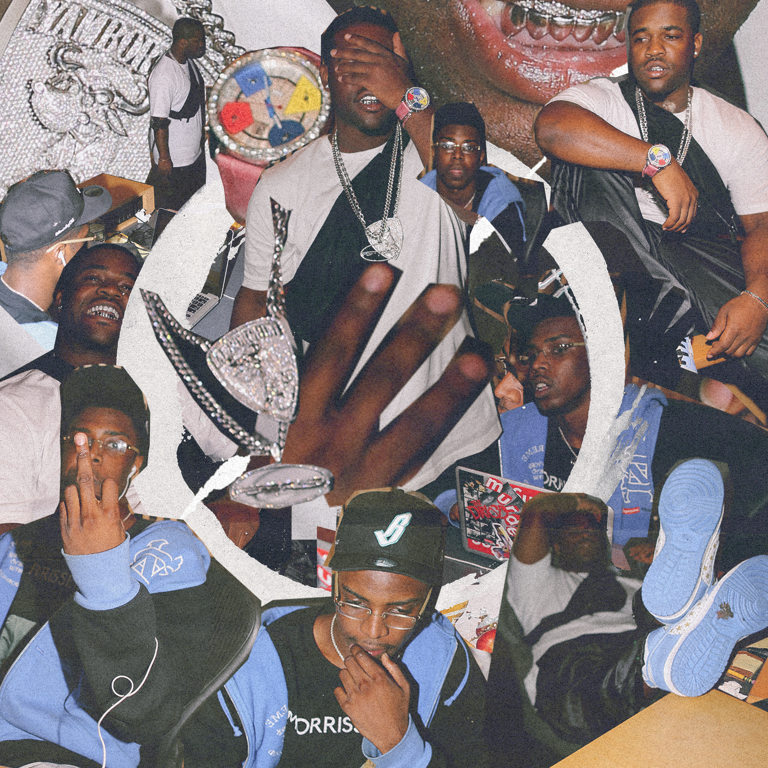 How Math Creates Collage Art for ASAP Mob HYPEBEAST 1500x1500