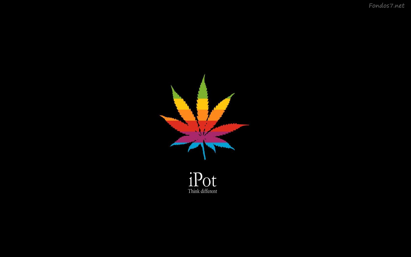 Descargar Fondos de pantalla ipod marihuana hd widescreen Gratis 1680x1050