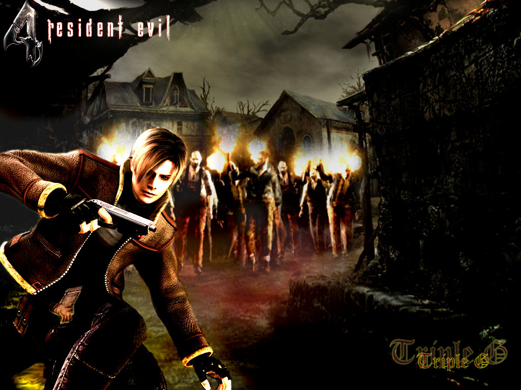 Free Download Resident Evil 4 Images Leon Kennedy Wallpaper Hd