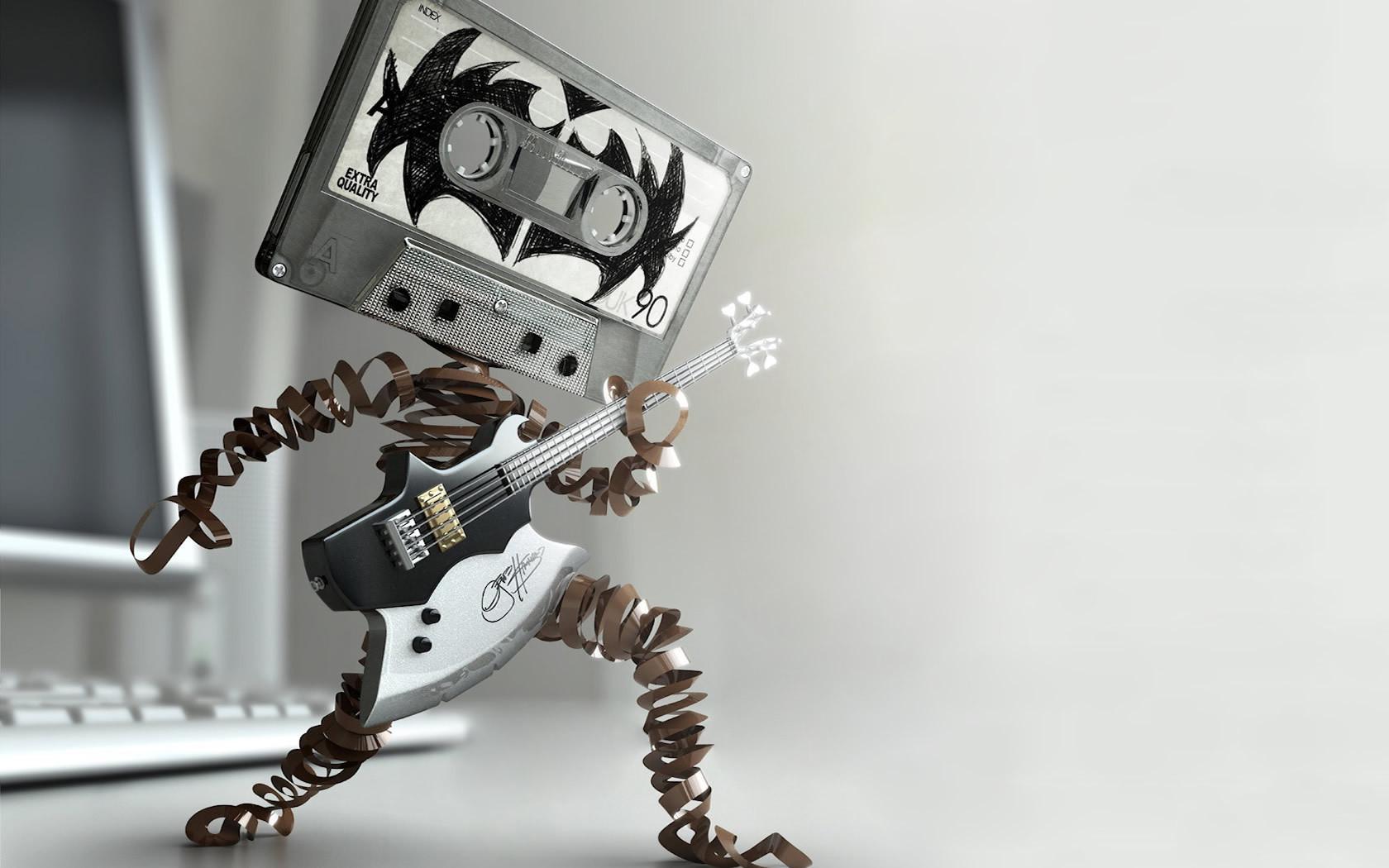 Music images Cassette Rock wallpaper photos 17588600 1680x1050
