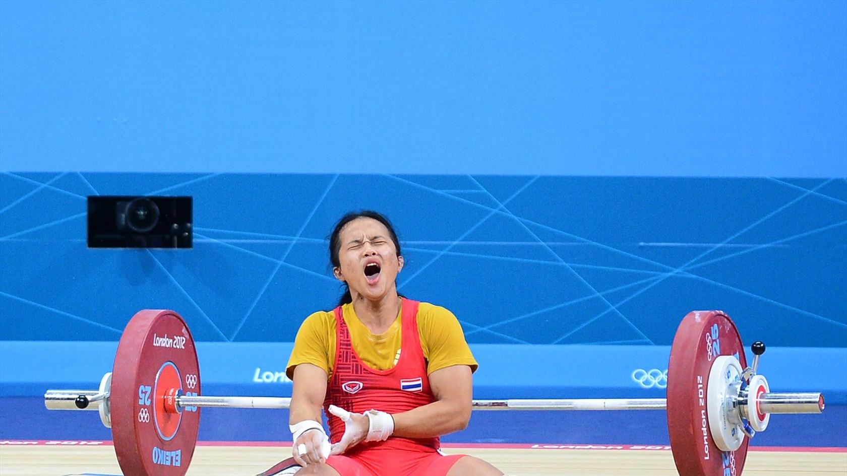 Olympic Lifting Wallpaper