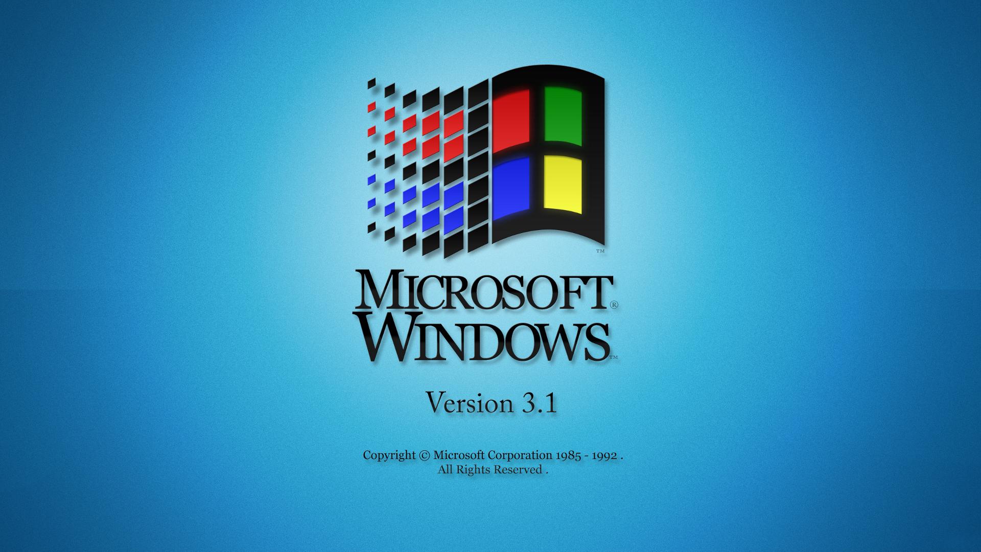 1920x1080 Microsoft Windows Version 31 desktop PC and Mac wallpaper 1920x1080