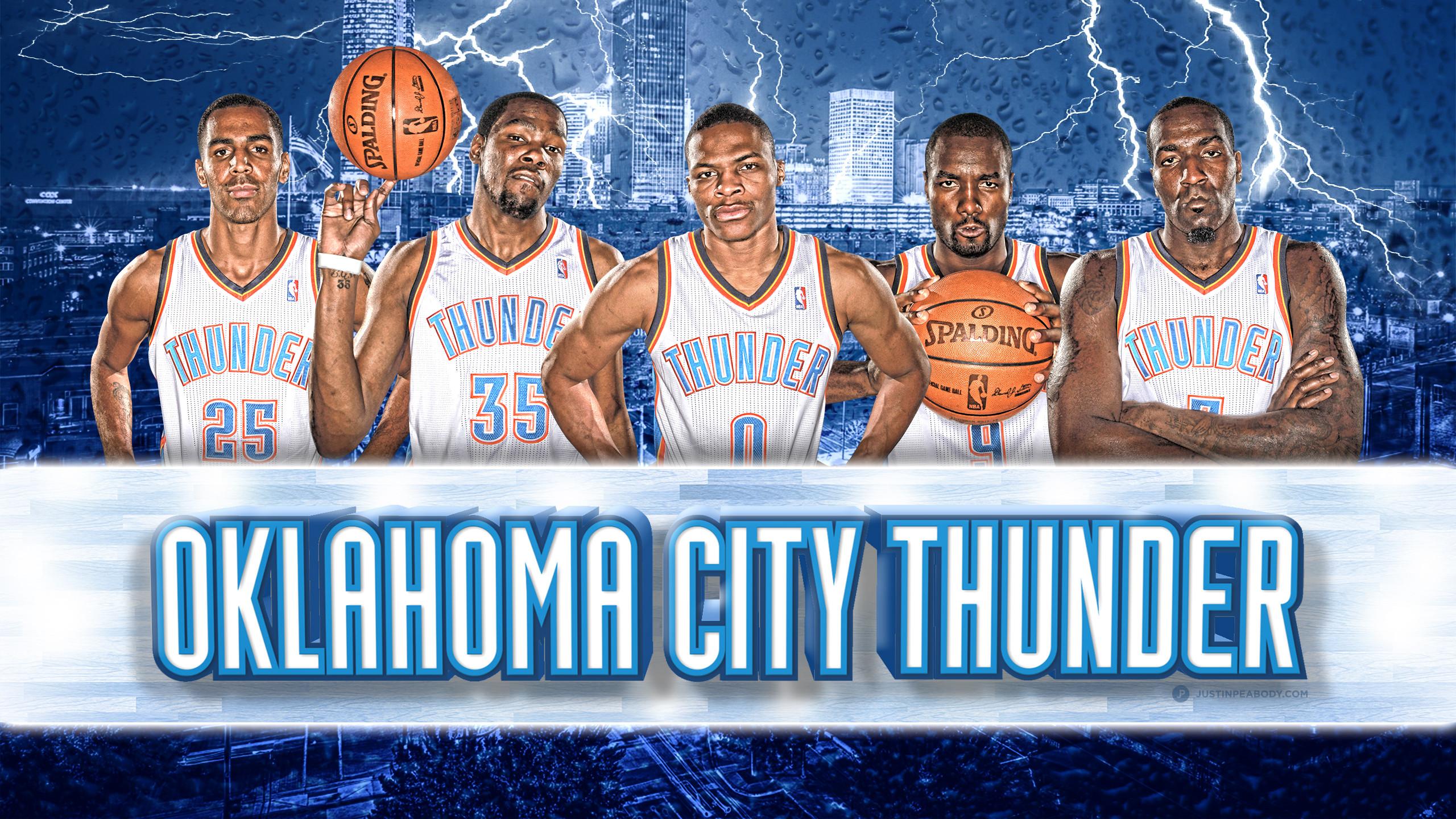 Oklahoma City Thunder Wallpaper 2014 2560x1440