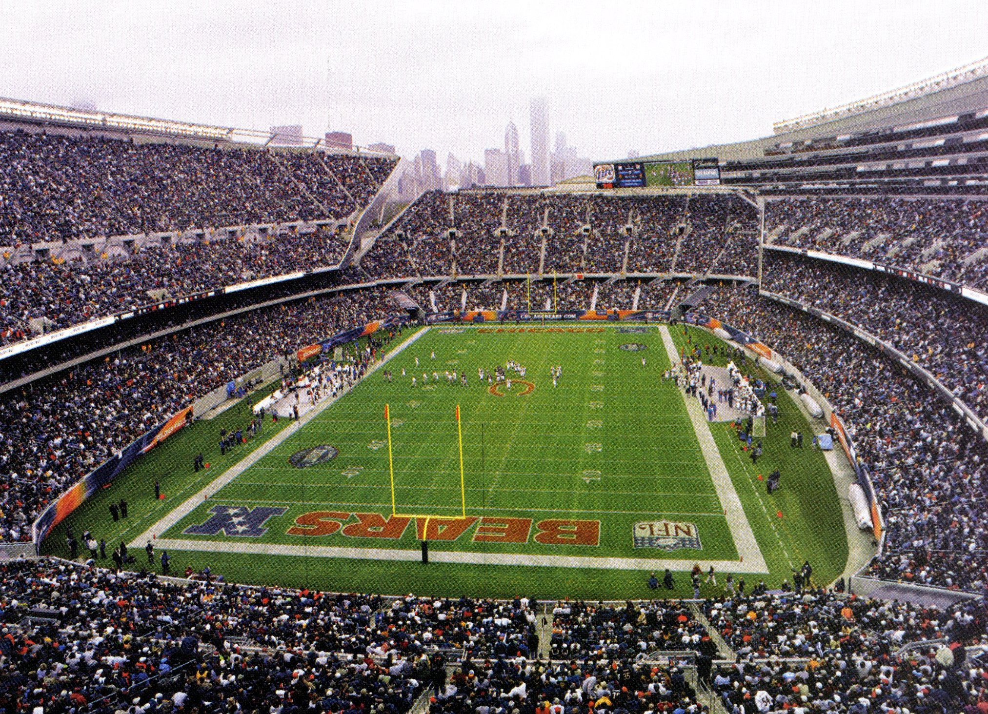 Back Gallery For soldier field wallpaper 2025x1464